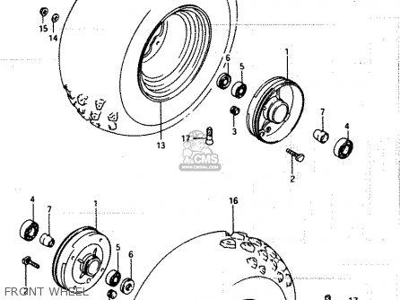 Suzuki Lt250ef 1985 (f) parts list partsmanual partsfiche