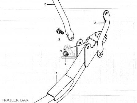 Suzuki Lt250ef 1986 (g) parts list partsmanual partsfiche