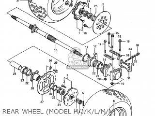 Suzuki LT250R QUAD RACER 1991 (M) USA (E03) QUADRACER QUAD
