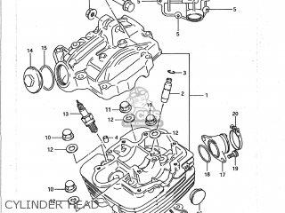 Suzuki LT250S QUAD SPORT 1990 (L) USA (E03) QUADSPORT QUAD