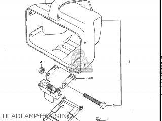 Suzuki LT300E QUAD RUNNER 1987 (H) USA (E03) QUADRUNNER