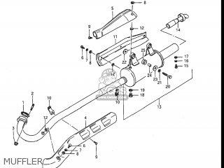 Suzuki LT300E QUAD RUNNER 1988 (J) USA (E03) QUADRUNNER