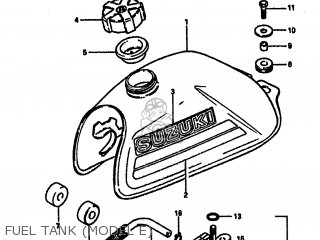 Suzuki Lt50 1984 (e) parts list partsmanual partsfiche
