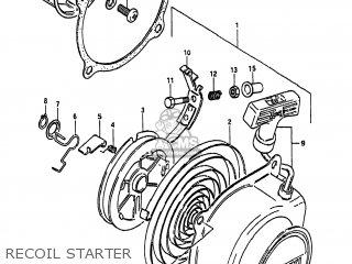 Suzuki LT50 1984 (E) USA (E03) parts lists and schematics