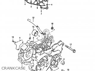 Suzuki Lt50 1985 (f) Usa (e03) parts list partsmanual