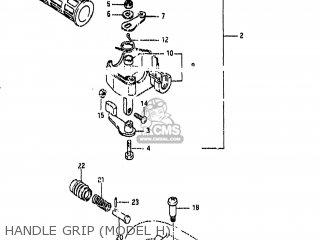 Suzuki LT50 1985 (F) USA (E03) parts lists and schematics