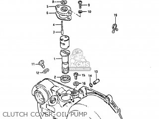 Suzuki Lt50 1986 (g) Usa (e03) parts list partsmanual