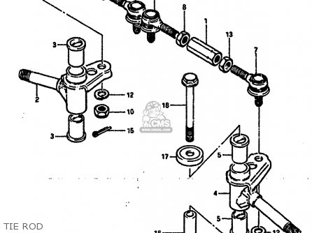 Suzuki LT50 1988 (J) parts lists and schematics