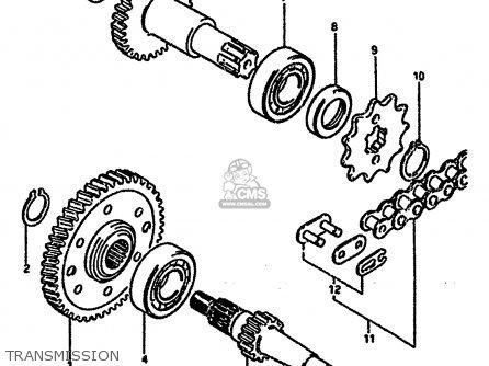 Suzuki LT50 1988 (J) parts lists and schematics
