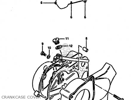 Suzuki LT50 1989 (K) parts lists and schematics