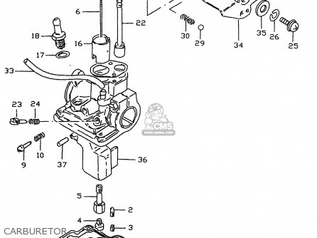 Suzuki Lt50 1990 (l) parts list partsmanual partsfiche