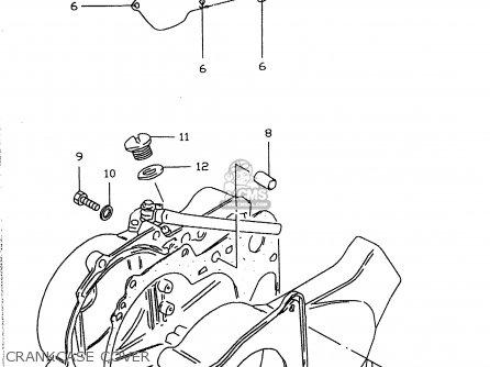 Suzuki Lt50 2000 (y) parts list partsmanual partsfiche
