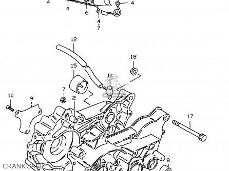 Suzuki LT50 2000 (Y) parts lists and schematics