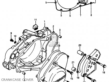 Suzuki Jr50 Engine Diagram Yamaha TTR50 Engine Diagram