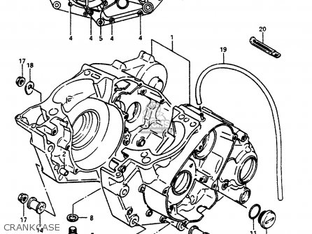 Suzuki Lt500r 1987 (h) parts list partsmanual partsfiche