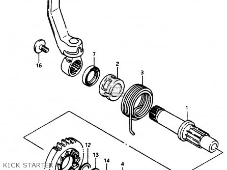 Suzuki LT500R 1987 (H) parts lists and schematics