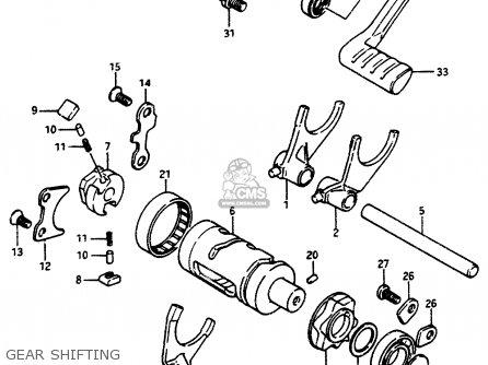 Suzuki LT500R 1988 (J) parts lists and schematics