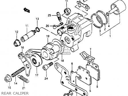 Suzuki LT500R 1990 (L) parts lists and schematics