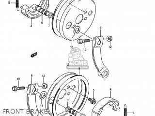 Suzuki LT80 1987 (H) USA (E03) parts lists and schematics