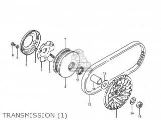 Suzuki LT80 1988 (J) USA (E03) parts lists and schematics