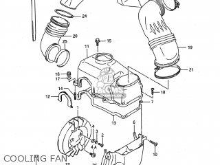 Suzuki LT80 1989 (K) USA (E03) parts lists and schematics
