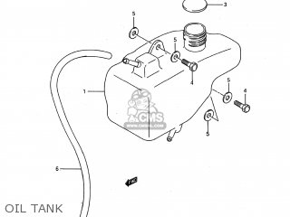 Suzuki Lt80 1989 (k) Usa (e03) parts list partsmanual