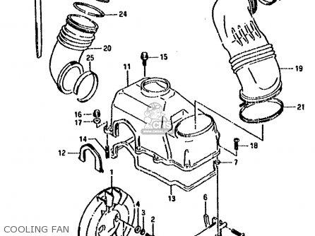 Suzuki Lt80 1990 (l) parts list partsmanual partsfiche