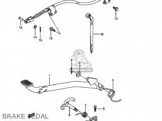 Suzuki LT80 1993 (P) USA (E03) parts lists and schematics