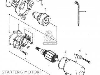 Suzuki Lt80 1993 (p) Usa (e03) parts list partsmanual