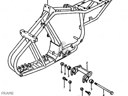 Suzuki Lt80 1994 (r) parts list partsmanual partsfiche