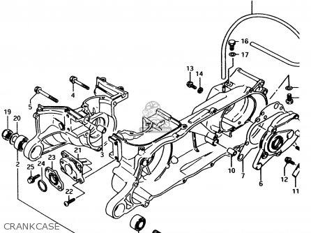 Suzuki Lt80 1996 (t) parts list partsmanual partsfiche