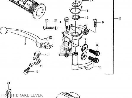Suzuki Lt80 1996 (t) parts list partsmanual partsfiche