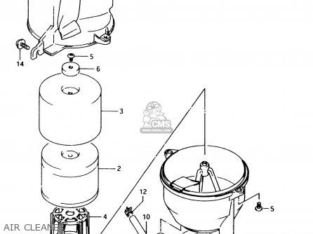 Suzuki LT80 1997 (V) parts lists and schematics