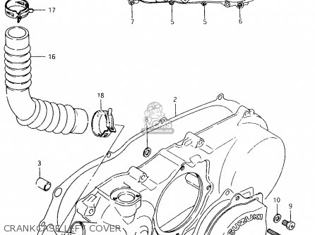Suzuki Lt80 1997 (v) parts list partsmanual partsfiche