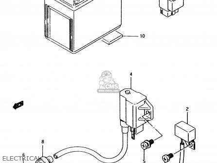 Suzuki Lt80 1997 (v) parts list partsmanual partsfiche