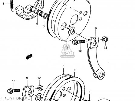 Suzuki Lt80 1998 (w) parts list partsmanual partsfiche