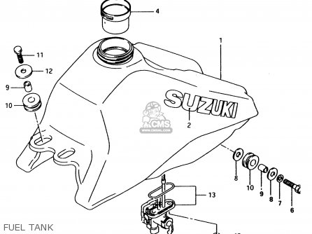 Suzuki LT80 1998 (W) parts lists and schematics