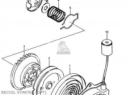 Suzuki Lt80 1998 (w) parts list partsmanual partsfiche