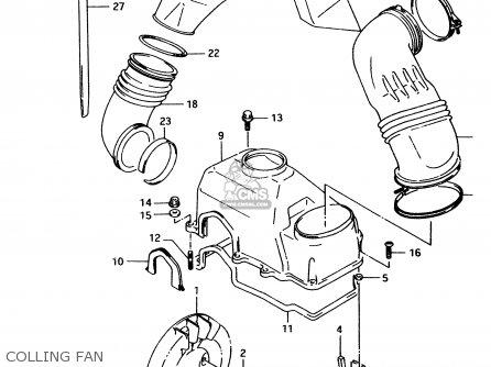 Suzuki Lt80 1999 (x) parts list partsmanual partsfiche