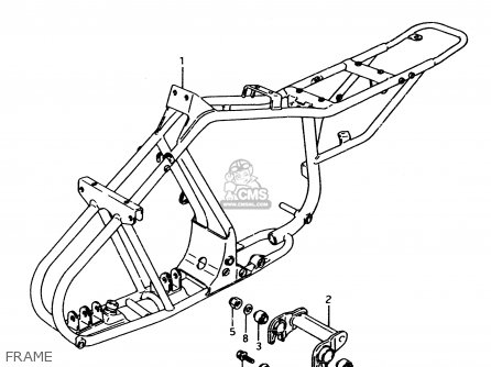 Suzuki LT80 1999 (X) parts lists and schematics