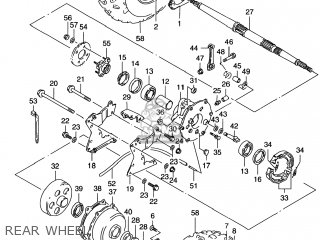 2005 Suzuki Lt80 Wiring Diagram Suzuki LT80 Air Cleaner