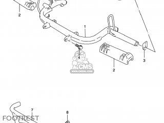 Suzuki LT80 QUAD SPORT 1999 (X) USA (E03) QUADSPORT QUAD