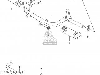 Suzuki LT80 QUAD SPORT 2000 (Y) USA (E03) QUADSPORT QUAD