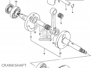 Suzuki LT80 QUAD SPORT 2001 (K1) USA (E03) QUADSPORT QUAD