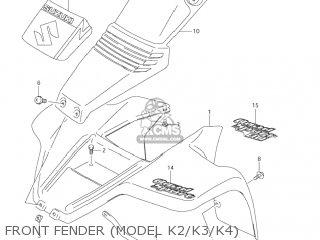 Suzuki LT80 QUAD SPORT 2002 (K2) USA (E03) QUADSPORT QUAD