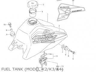 Suzuki LT80 QUAD SPORT 2003 (K3) USA (E03) QUADSPORT QUAD