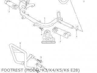Suzuki LT80 QUAD SPORT 2004 (K4) USA (E03) QUADSPORT QUAD