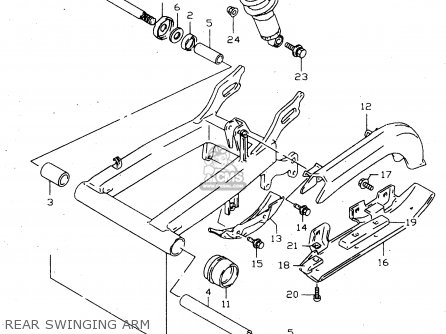 Suzuki LTF160 1999 (X) parts lists and schematics