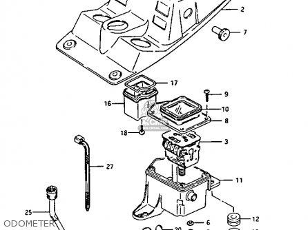 Suzuki LTF230 1987 (H) parts lists and schematics