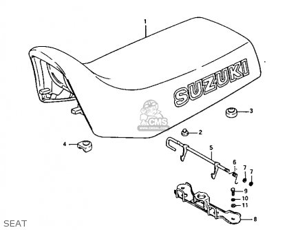 Suzuki LTF230 1987 (H) parts lists and schematics